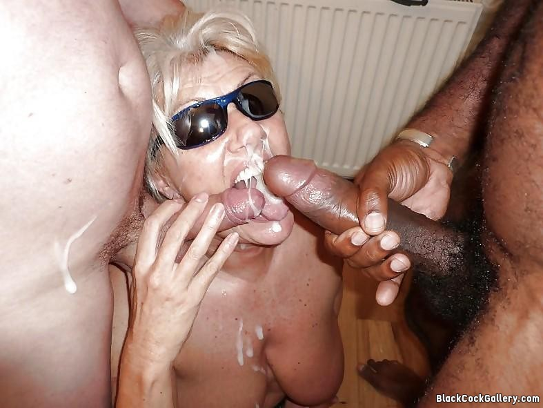 You big black cock cums on wife face have