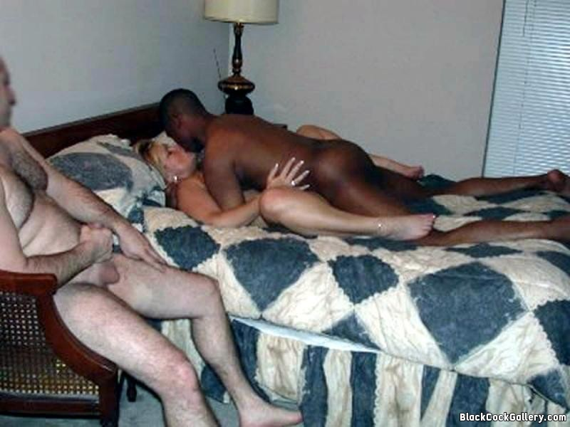 small dick hubby watching wife get pounded by a real man ...