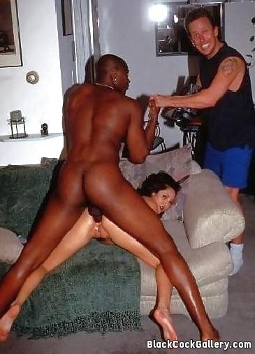 Black men fucking my white wife