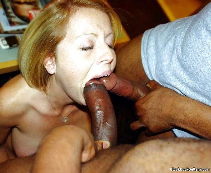 Sucking Thick Black Cock