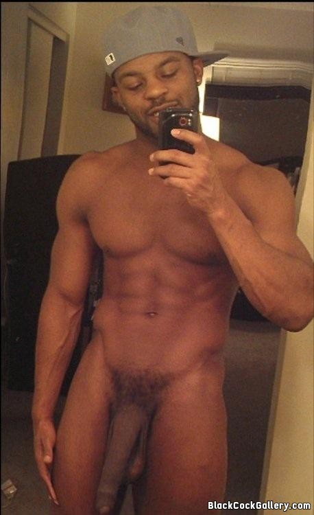Big black dick selfie cock