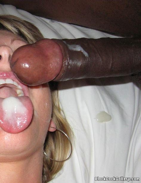 Achieve orgasm Cum on black cock only