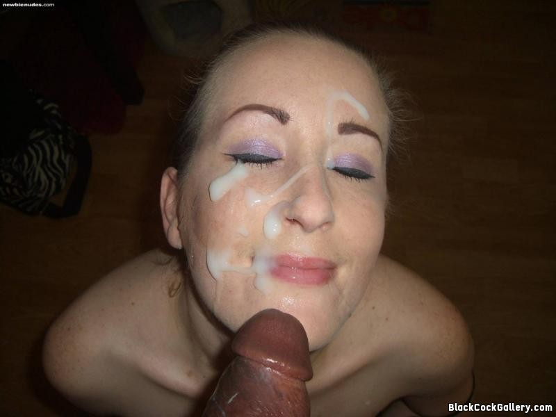 Black Face Cum 58